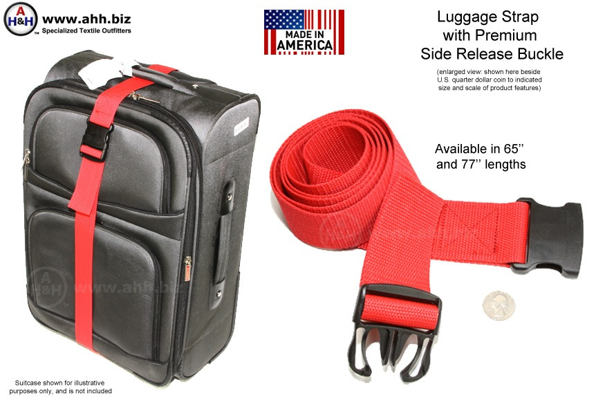 Luggage Straps - Made in America
