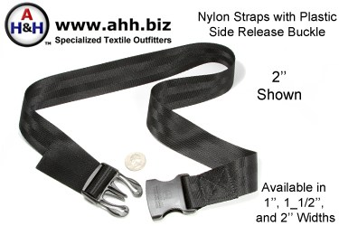 Nylon Straps with Premium Side Release Buckle