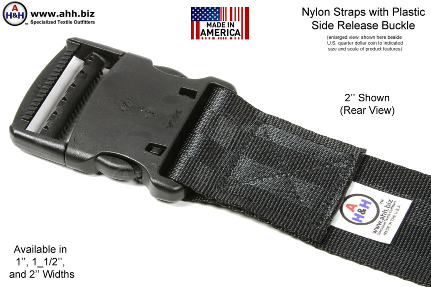 Side Release Buckle Strap Nylon