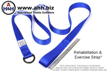 Blue Rehabilitation & Exercise Strap
