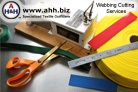 Custom Cutting Services for Webbing (length only)
