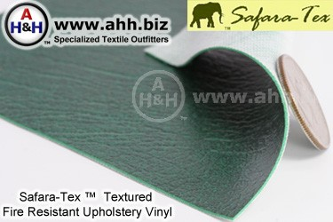 Fire Resistant Upholstery Vinyl Fabric by Safara-Tex™