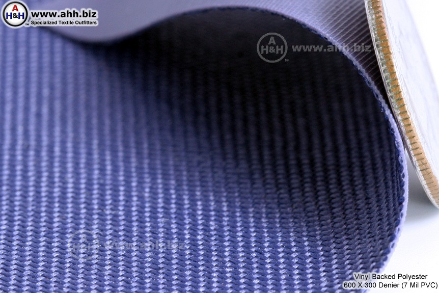 Pvc backed polyester waterproof fabric