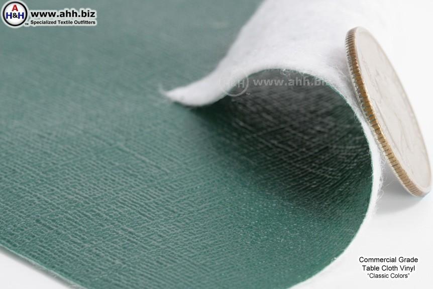 Table Cloth Vinyl - Restaurant Grade