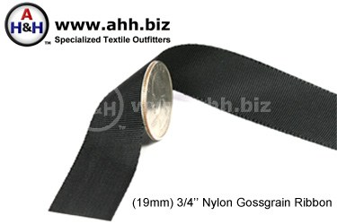 3/4″ Nylon Grosgrain Ribbon