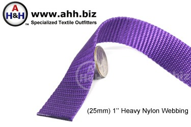 1″ Nylon Webbing - Heavy