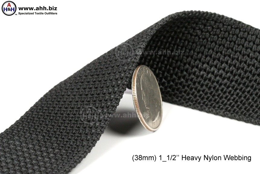 Heavy Nylon Webbing 1 5 Inch