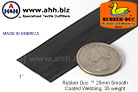 1'' Rubber Duc™ brand Rubber Coated Webbing Smooth 25mm, 35 weight