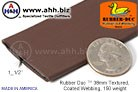 1_1/2'' Rubber Duc™ brand Rubber Coated Webbing Textured 150 weight